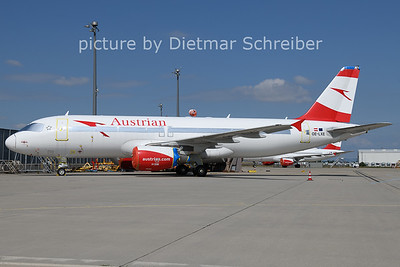 2021-07-03 OE-LXE Airbus A320 Austrian AIrlines