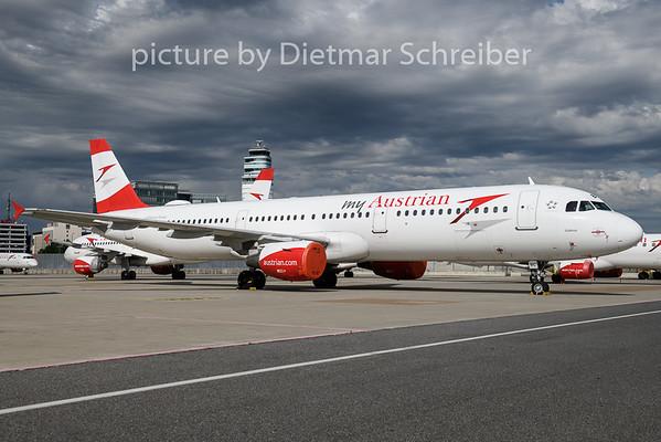 2020-06-03 OE-LBC Airbus A321  Austrian Airlines