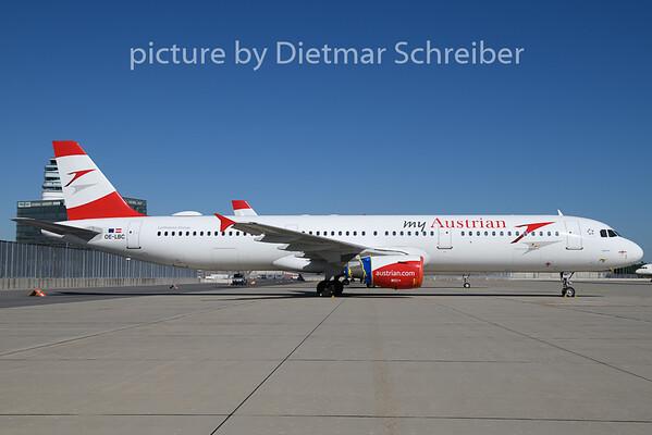 2020-07-01 OE-LBC Airbus A321 Austrian Airlines