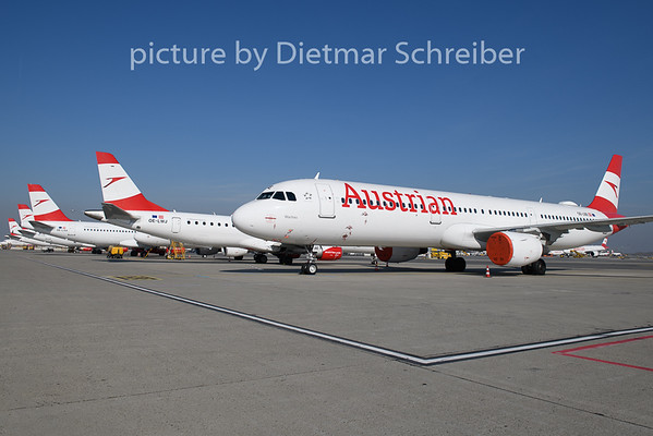2020-03-19 OE-LBE Airbus A321 Austrian Airlines
