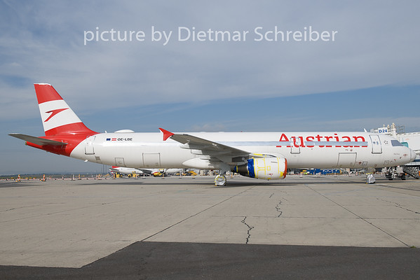 2020-10-10 OE-LBE Airbus A321 Austrian Airlines