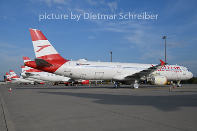 2020-09-24 OE-LBE Airbus A321 Austrian Airlines