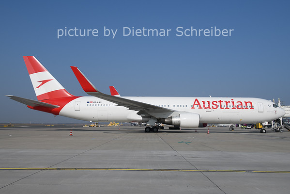 2021-03-25 OE-LAX Boeing 767-300 Austrian AIrlines