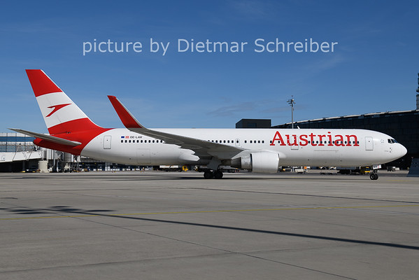 2021-05-21 OE-LAW Boeing 767-300 Austrian aIrlines