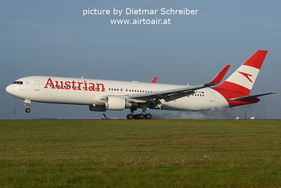 2021-10-04 OE-LAY Boeing 767-300 Austrian AIrlines
