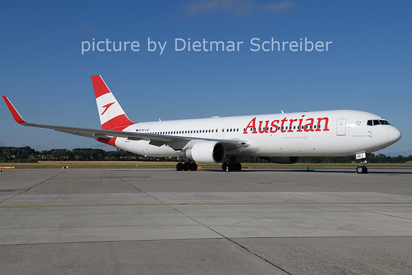 2021-07-12 OE-LAE Boeing 767-300 Austrian AIrlines
