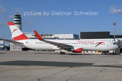 2021-08-25 OE-LAZ Boeing 767-300 Austrian AIrlines