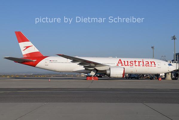 2021-03-31 OE-LPA Boeing 777-200 Austrian AIrlines