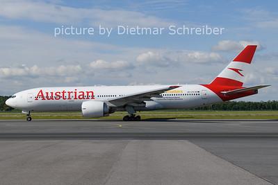 2021-05-29 OE-LPA Boeing 777-200 Austrian AIrlines