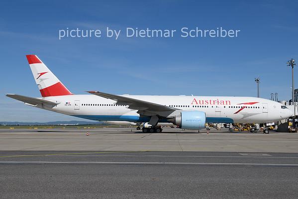 2021-05-21 OE-LPB Boeing 777-200 Austrian Airlines