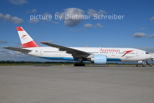 2021-05-28 OE-LPE Boeing 777-200 Austrian AIrlines