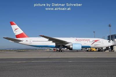 2021-09-09 OE-LPC Boeing 777-200 Austrian AIrlines