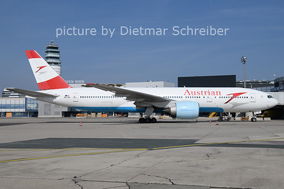 2021-03-25 OE-LPE Boeing 777-200 Austrian AIrlines