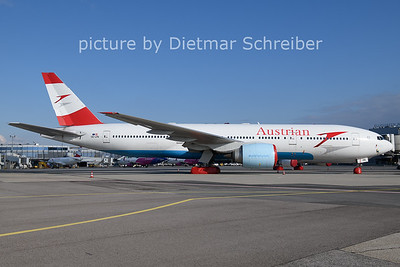 2021-03-17 OE-LPB Boeing 777-200 Austrian Airlines