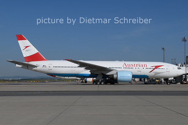 2021-06-01 OE-LPB  Boeing 777-200 Austrian AIrlines