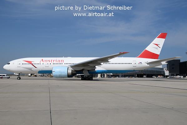 2021-09-06 OE-LPC Boeing 777-200 AUstrian AIrlines