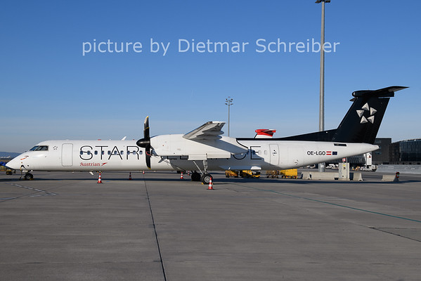 2020-12-27 OE-LGO Dash8-400 Austrian AIrlines