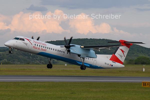 2021-05-31 OE-LGI Dash8-400 Austrian Airlines