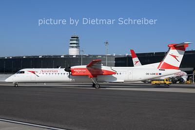 2021-01-11 OE-LGM Dash8-400 Austrian Airlines