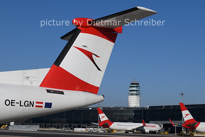 2021-01-11 OE-LGN Dash 8-400 AUstrian Airlines