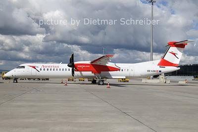 2021-03-22 OE-LGN DAsh8-400 Austrian AIrlines