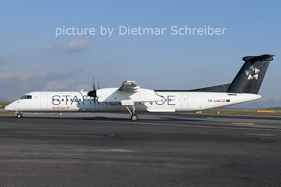 2021-01-08 OE-LGO Dash8-400 Austrian Airlines