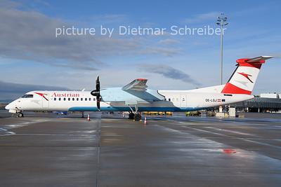 2021-01-24 OE-LGJ Dash 8-400 Austrian AIrlines