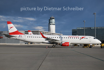 2020-06-26 OE-LWL Embraer 195 Austrian Airlines