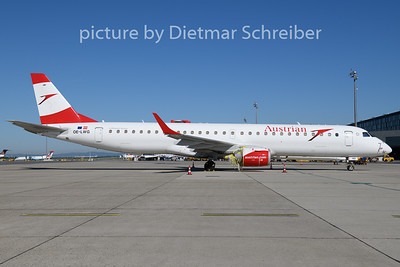 2020-07-01 OE-LWG Embraer 195 Austrian Airlines
