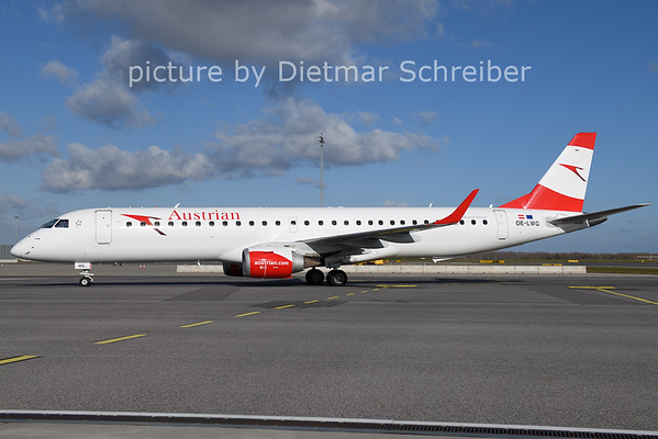 2020-11-20 OE-LWG Embraer 195 Austrian AIrlines