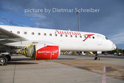2020-06-26 OE-LWI Embraer 195 Austrian Airlines