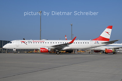 2021-03-25 OE-LWD Embraer 195 Austrian AIrlines