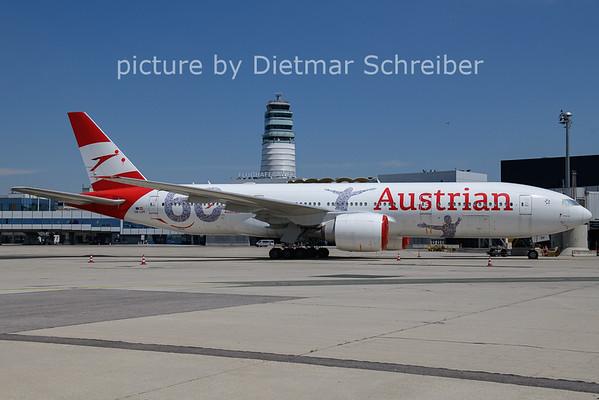 2021-06-07 OE-LPF Boeing 777-200 Austrian AIrlines