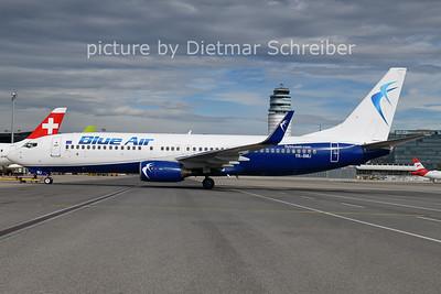 2021-07-01 YR-BMJ Boeing 737-800 Blue Air