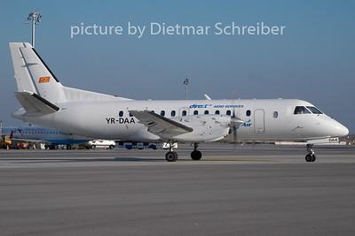 2010-01-04 YR-DAA Saab 340 Direct Aero Services / Blue Air