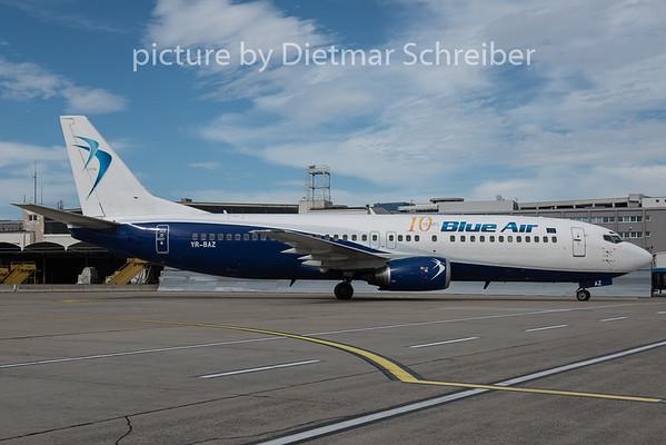 2015-09-16 YR-BAZ Boeing 737-400 Blue AIr
