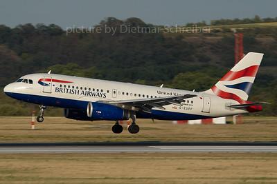 2007-07-31 G-EUPF Airbus A319 British Airways