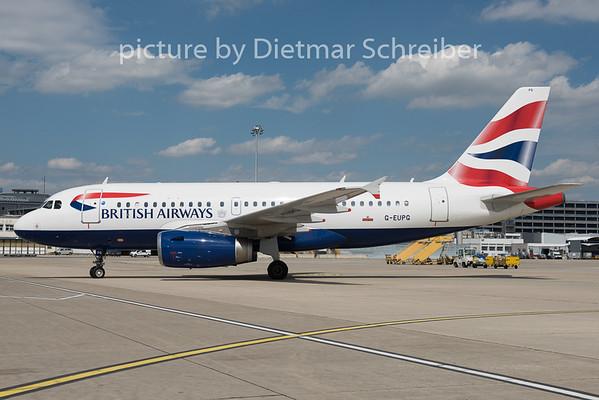 2015-07-30 G-EUPG Airbus A319 British Airways