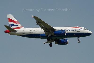 2007-05-21 G-EUPN Airbus A319 British Airways