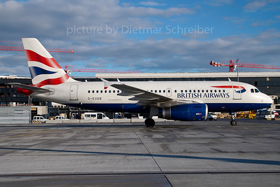 2007-01-07 G-EUOB Airbus A319 British Airways