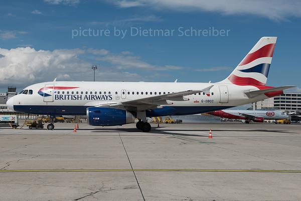 2016-06-14 G-DBCC Airbus A319 British Airways