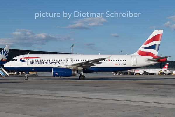 2019-05-10 G-EUYE Airbus A320 British Airways