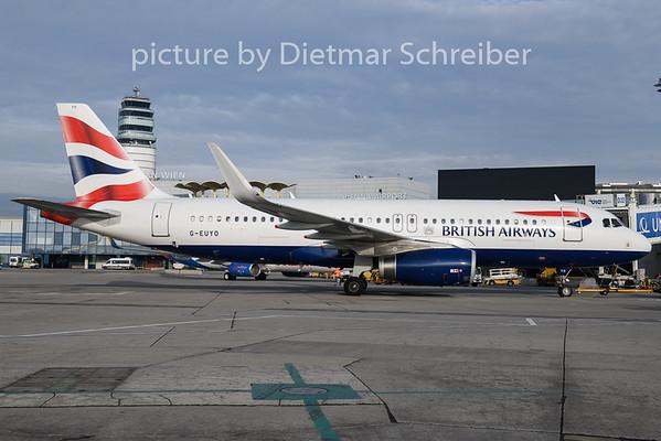 2018-12-07 G-EUYO Airbus A320 British Airways