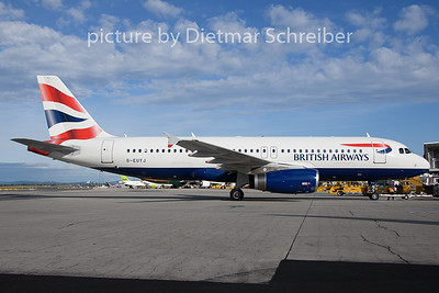 2019-08-08 G-EUYJ Airbus A320 British Airways