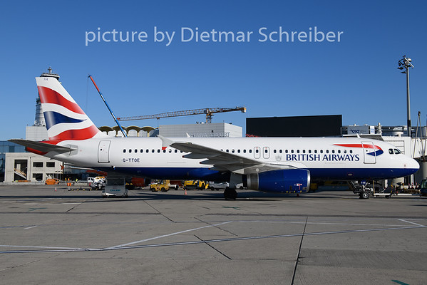 2019-12-11 G-TTOE AIrbus A320 British Airways