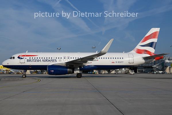 2018-08-23 G-EUYT Airbus A320 British Airways