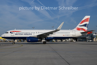 2018-08-23 G-EUYT Airbus A320 British Airways