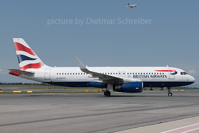 2018-06-18 G-EUYX Airbus A320 British Airways