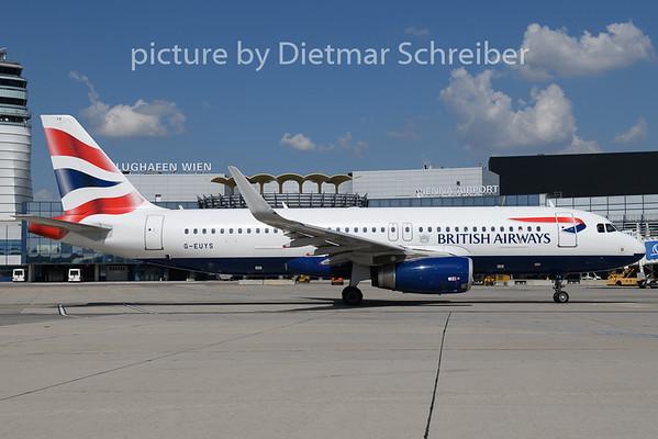 2018-08-03 G-EUYS Airus A320 British AIrways