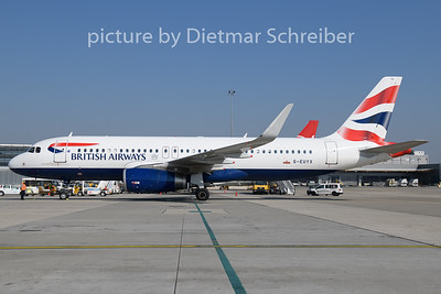 2018-10-11 G-EUYX Airbus A320 British Airways
